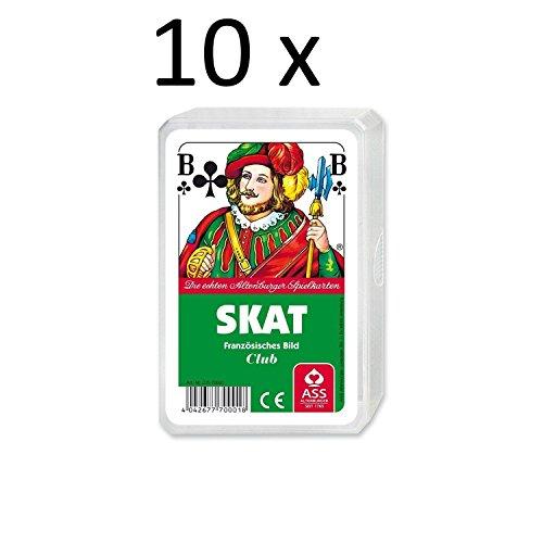 ASS Altenburger Spielkarten Skat - Französisches Bild, Plastiketui (10)