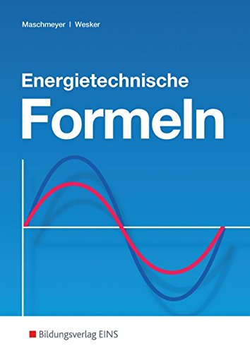 Energietechnische Formeln.