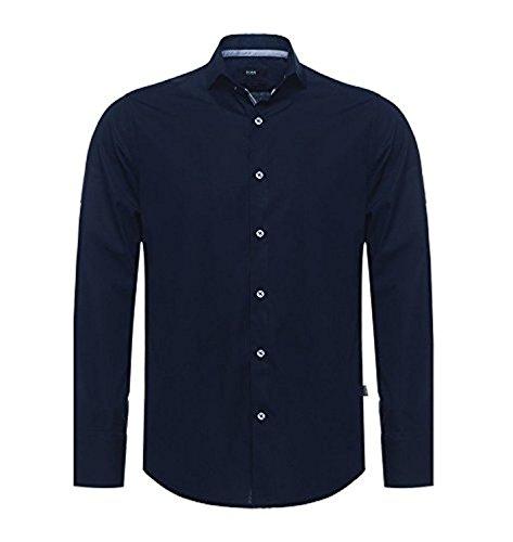 Hugo Boss / Regular Fit / Col Kent / Chemises pour hommes / Bleu Marine Blanc / S M L XL XXL Marine