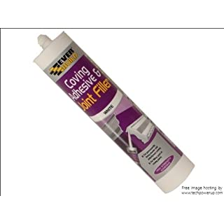 4xEverbuild EVBCOVE 310 ml Coving Adhesive and Joint Filler