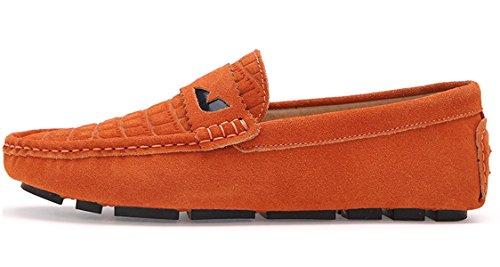 TDA , Sandales Compensées homme Orange