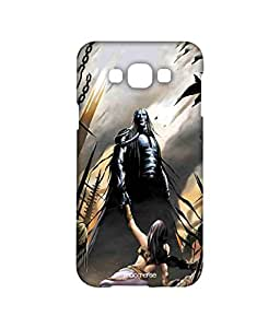 Licensed Graphic India Indian Mythology Premium Printed Back cover Case for Samsung A8