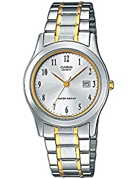 Casio Collection LTP-1264PG-7B, Reloj Análogo Clásico, Acero Inoxidable, Plateado