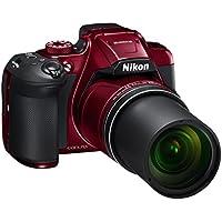 Nikon Coolpix B700Digitalkamera, 20.3MPX, Zoom 60x, rot [Nital Card: 4Jahre Garantie]