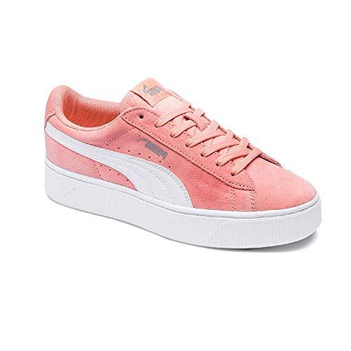 Puma Damen Vikky Stacked Sd Sneaker, Rosa (Peach Bud-Puma White 07), 40.5 EU