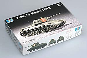 Trumpeter 7208 - Soviéticos T-34/76 Modelo 1943 Importado de Alemania