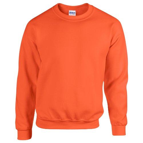 Gildan - Felpa Sportiva - Unisex Arancio