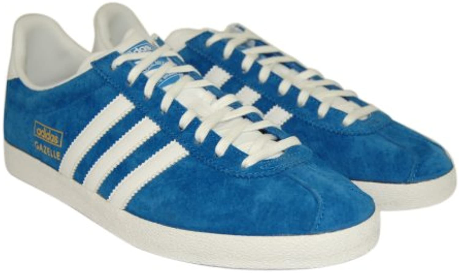 Adidas Mens Gazelle OG Blue Suede Trainers Trainers Suede 097fe8