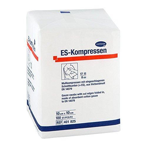 Es-kompressen unsteril 10x10 cm 8fach 100 stk