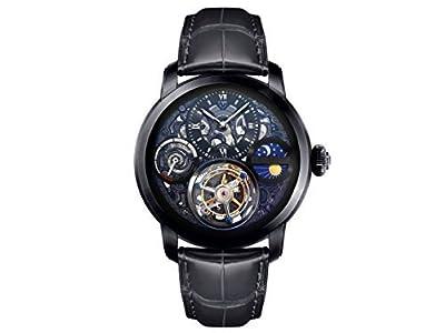 Men's MO1119 Zeus Series Black Tourbillon Watch