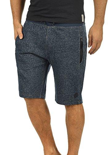 BLEND Rigins Herren Sweat-Shorts kurze Hose Sport-Shorts aus 100% Baumwolle  Navy fe818f695d