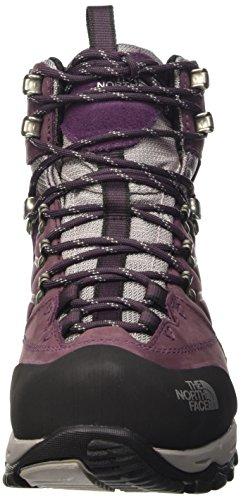 The North Face Verbera Hiker II Gore-Tex, Chaussures Bébé marche femme Mehrfarbig (Barqprpl/Foilgy L3M)