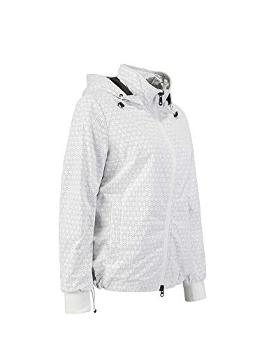 Geox Damen Jacke Woman Jacket Bianco