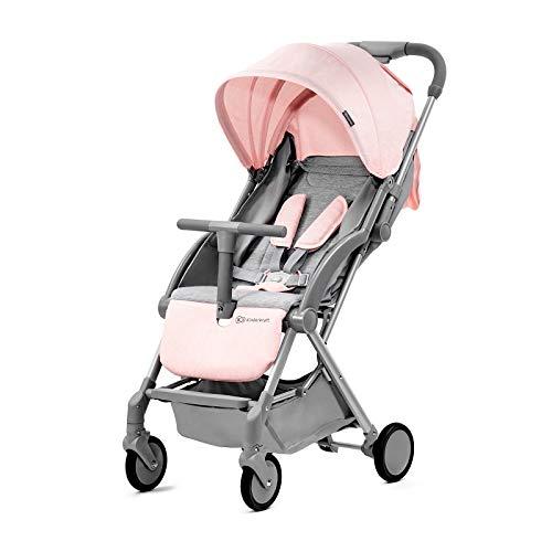 Kinderkraft PILOT Silla de paseo plegable rosa