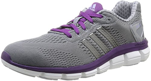 adidas Cc Ride W - Sneaker pour femme Tech Grey F12 / Neo Iron Met. F11 / Tribe Purple S14