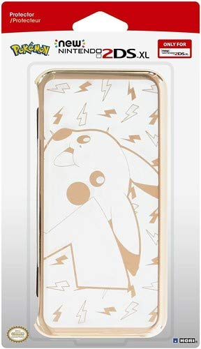 HORI Pikachu Premium Gold Protector for New 2DS XL Standard [Nintendo 3DS] -