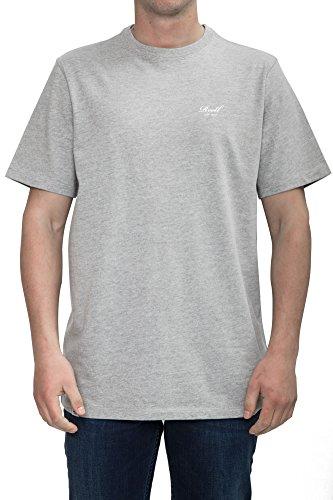 Reell T-Shirt Small Script T-Shirt Artikel-Nr.1301-009 - 03-006 Heather Grey