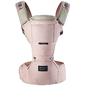YZ Baby Carrier, Multi-Function Four Seasons Universal Baby Carrier, Recommended 3-36 Months, Strong Load Capacity,Pink   4