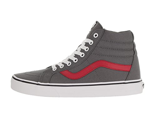 Vans Sk8-Hi Reissue, Scarpe da Ginnastica Alte Unisex – Adulto (canvas) tornado/racing red