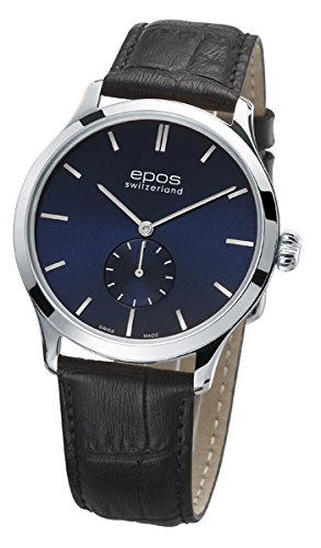 Epos Collection originale 3408, Blu Ø 39mm–Molto Piatta Di