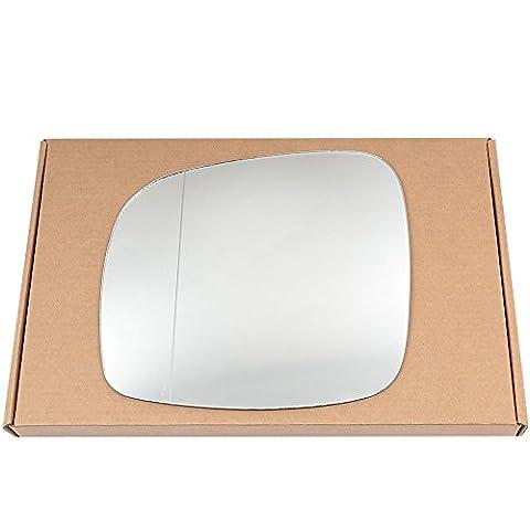 Grand Angle côté gauche passegner aile en argent miroir en