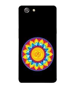 PrintVisa Designer Back Case Cover for Oppo Neo 5 :: Oppo A31 :: Oppo Neo 5S 2015 (Religious Om Swastik Symbol Shiv Bhagwan Spritual)