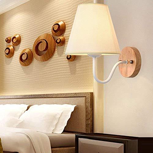 Wirtschaft-lampe (FJTXC Exquisite Wirtschaft Energie Lampe Verstellbare Wand - Legierung Tuch Dauerlicht Schatten einfach kreative Moderne Wohnzimmer Schlafzimmer Balkon Nachtlicht Dauerlicht Gang (Nicht Quelle Lich)