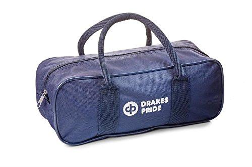 DrakesPride BowlandJack-Tasche, für 2Bowls und 1Jack Blau - navy