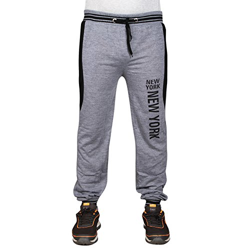 F09 Men's Cotton Printed Track Pant