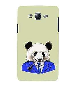 EPICCASE Panda in a suit Mobile Back Case Cover For Samsung Galaxy J7 (Designer Case)
