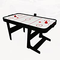 Gamesson Unisex Eagle L Foot Folding Air Hockey Table Accessories, White, Large/6-Inch