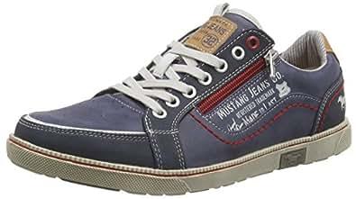 Mustang 4073-302-800, Herren Sneakers, Blau (800 dunkelblau), 40 EU