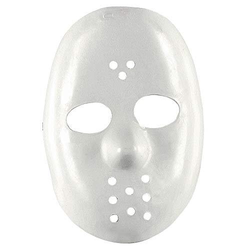 Widmann 4698B Hockeymaske, Weiß, One Size