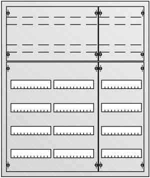 Striebel&John UP-Verteiler 6r. U63K Installationskleinverteiler 4011617301134