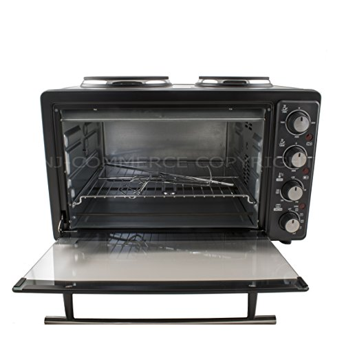 Table Top Ovens Electric ~ L electric oven hot plate convection grill hob