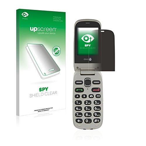 upscreen Anti-Spy Blickschutzfolie für Doro PhoneEasy 632 Privacy Screen Bildschirmschutzfolie - Sichtschutz, Kratzfest