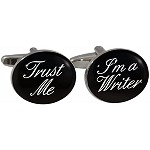Trust Me I'm A Escritor gemelos en caja regalo