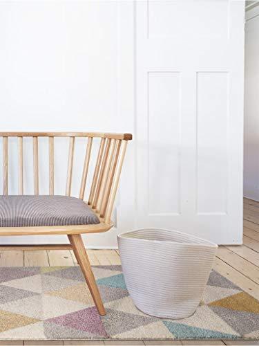 Benuta Alfombra Pastel Geomet | Moderna Alfombra salón