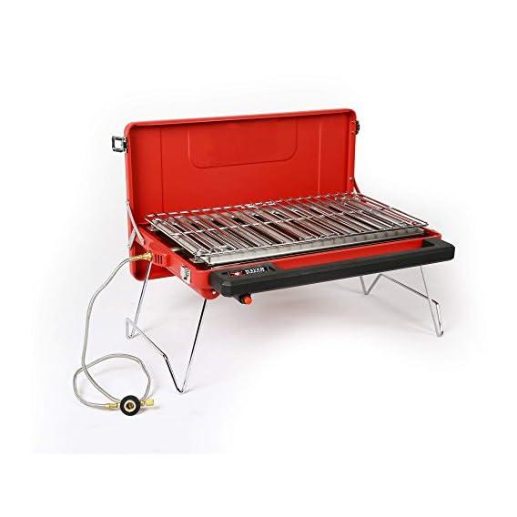 Mayer Barbecue Zunda Tragbarer Tischgrill Camping Gasgrill Mgg 310 Basic