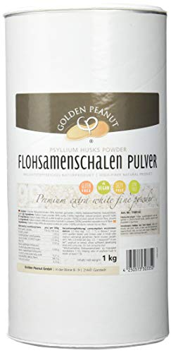 Premium Flohsamenschalen Pulver 99% 1 Kg fein gemahlen 60mesh