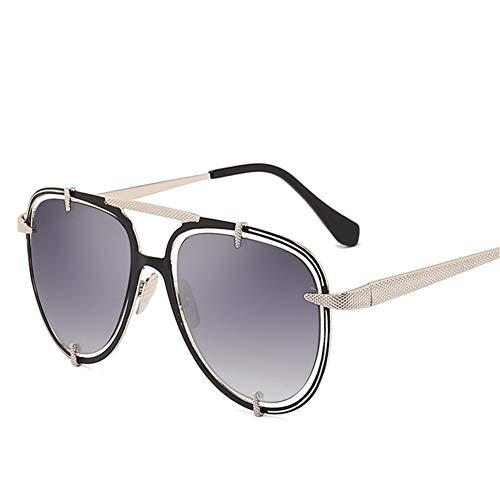 Wenkang Metal Frame Sunglasses Women Multi-Color Eyewear Male Uv400 Sun Glasses Protection Cool Sun Glasses for Female,3