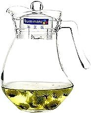 Luminarc White Glass 1300 ml Wavy Jug ( 1 Pc )