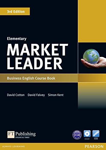 Market Leader 3rd Edition Elementary Coursebook & DVD-ROM Pack por David Cotton