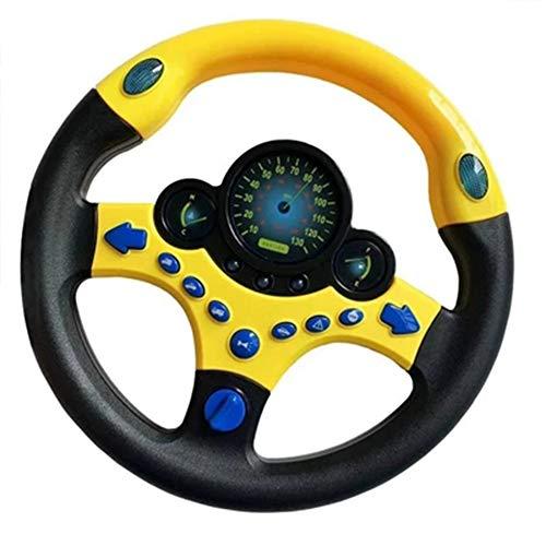 JIE KE Lenkrad-Simulator Kinder-Lenkrad Beifahrer Auto Große Richtung Spielzeug Simulation Fahren (Farbe : A)
