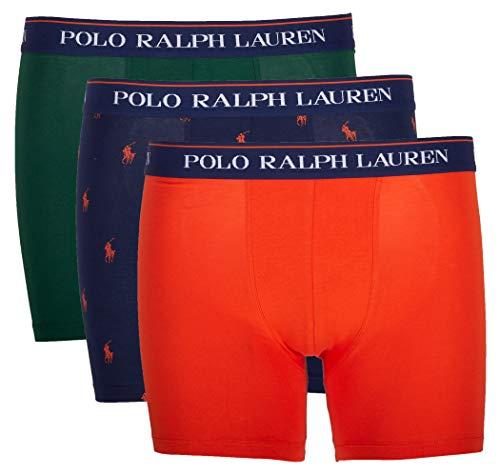 Polo Ralph Lauren Herren Shorts 3er Pack, Boxer Brief, Stretch (L, Mehrfarbig (Miscellaneous 006))