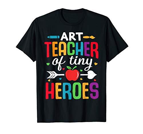 Kunstlehrer zurück zum ersten Schultag Tiny Heroes 1st T-Shirt
