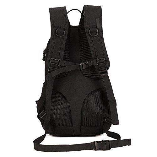 Imagen de huntvp táctical  militar  asalto  gran bolsa de hombro impermeable 20l para las actividades aire libre, senderismo, caza ,viajar,color negro alternativa