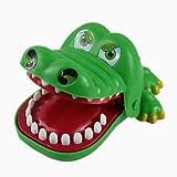 Snner Tricky Giocattolo del bavaglio Relax Giocattolo Big Mouth Coccodrillo del morso del Dentista Finger Gioco