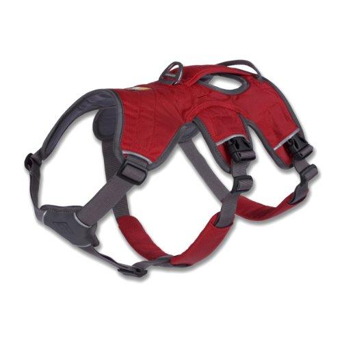 Ruffwear 30101-615M Web Master Harness Hundegeschirr, M, rot - 2
