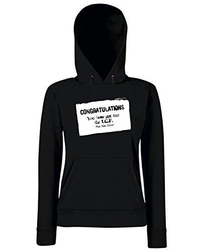 T-Shirtshock - Sweats a capuche Femme TUM0008 west ham inter city firm Noir